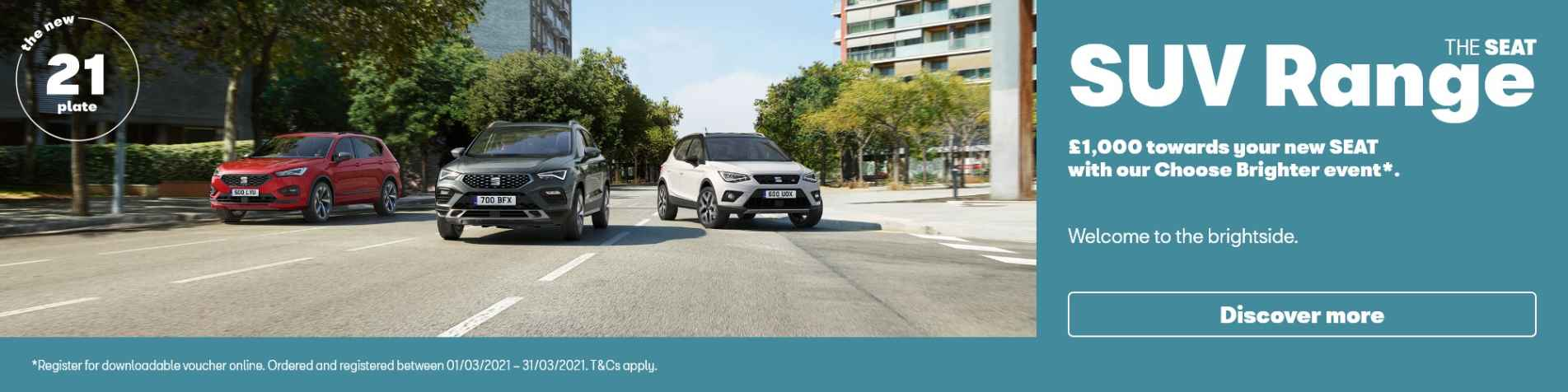 SEAT SUV Retail Banners Q1 2021
